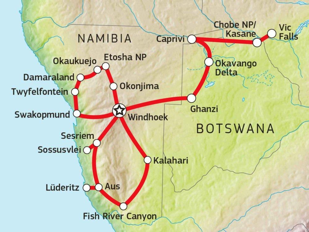 106Y21010 African Odyssey Karte