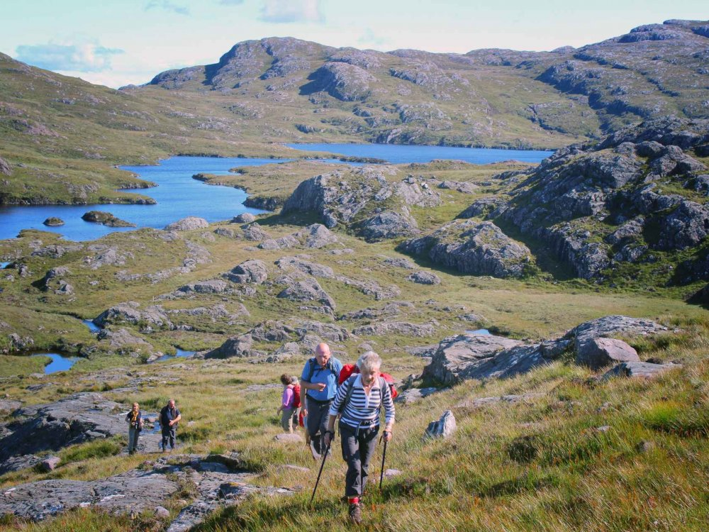 123B30005 Schottland - Highlights der Highlands Karte