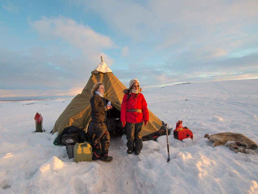 146R10003 Sámi Rentiermigration - Tour of a lifetime! Karte