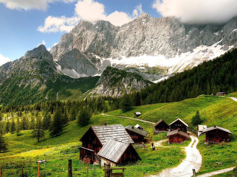 Alm in der Dachstein-Region