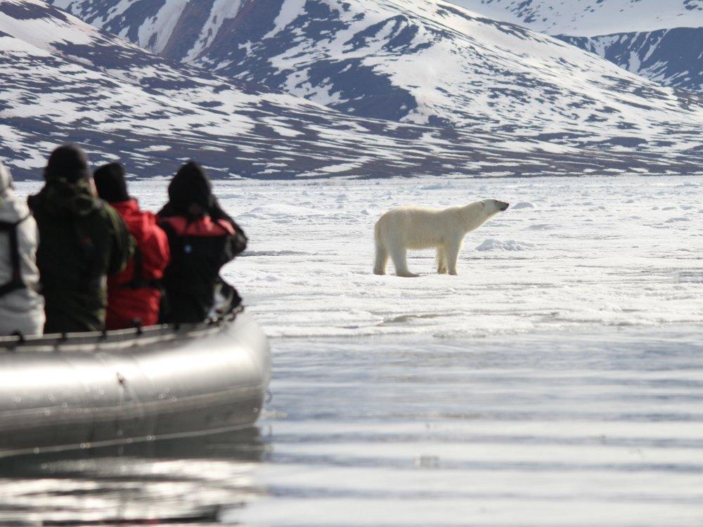 Spitzbergen Zodiac Ausflug