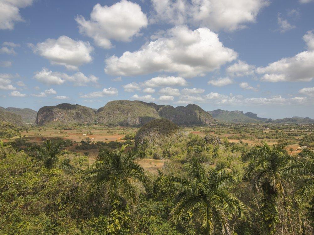 Landschaft im Vinales Tal