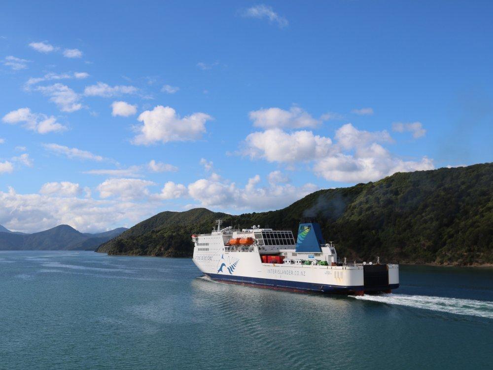 Fähre zwischen Nord- und Südinsel