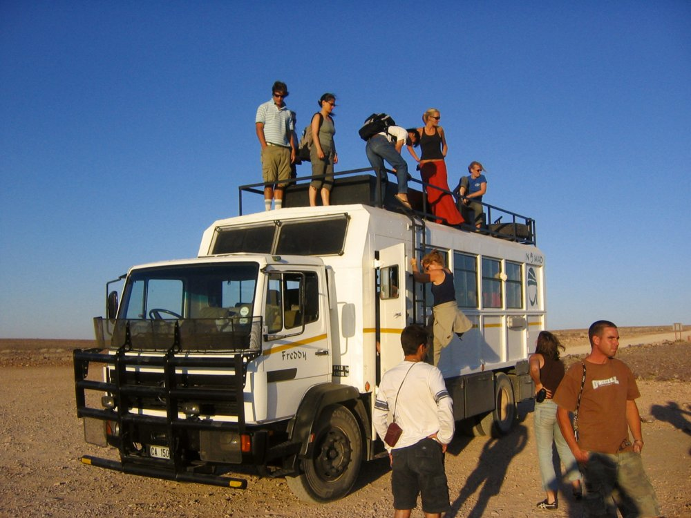 Truck-traveller