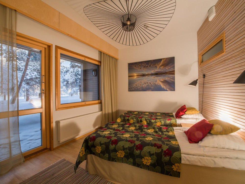 Hotel Kultahovi Zimmer im River Hotel