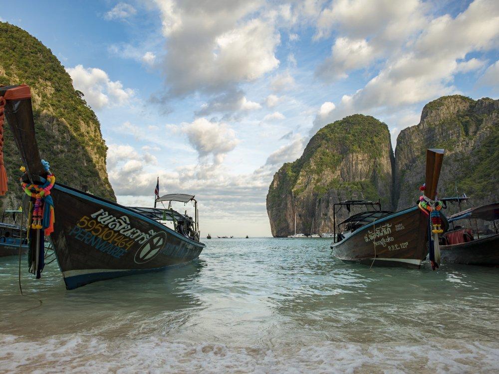 Thailand Koh Racha Noi Longtail Boot