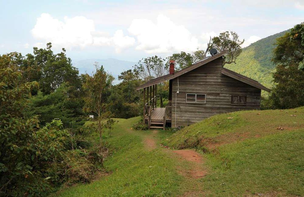 Hütte in den Blue Mountains Jamaica