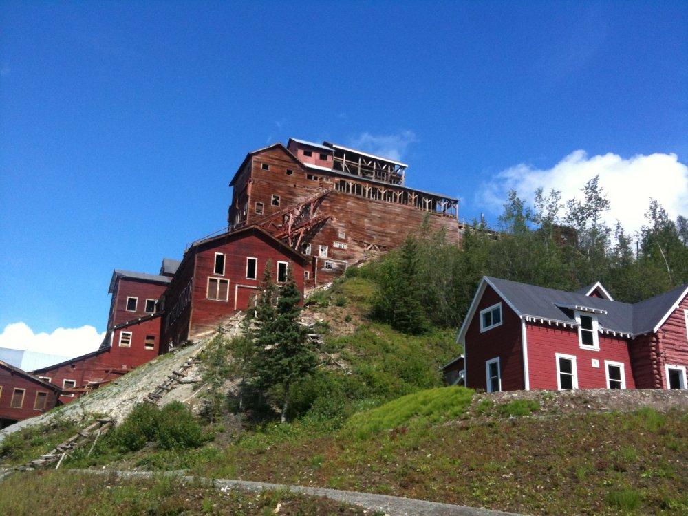 Historisches Bergwerk in Kennicott