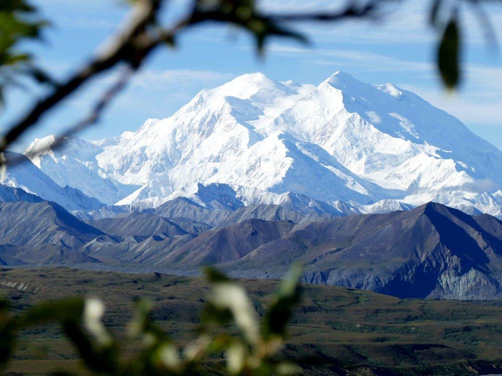 Der Mount Denali in Alaska in seiner vollen Pracht