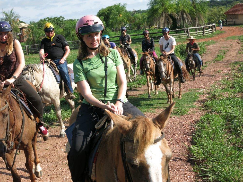 Reiten im Süd Pantanal