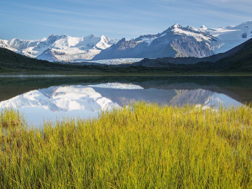 Landschaft im Wrangell St. Elias Nationalpark