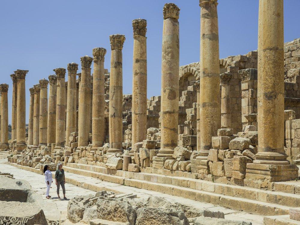 Ruinen von Jerash