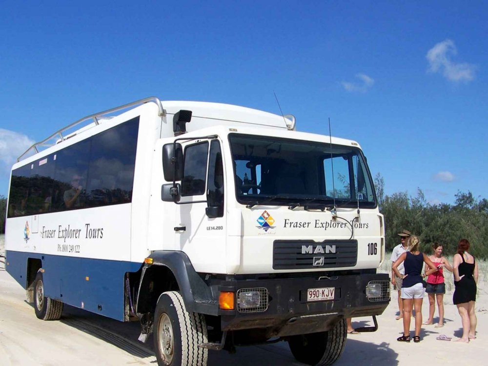 102A10018 Fraser Island Explorer Karte