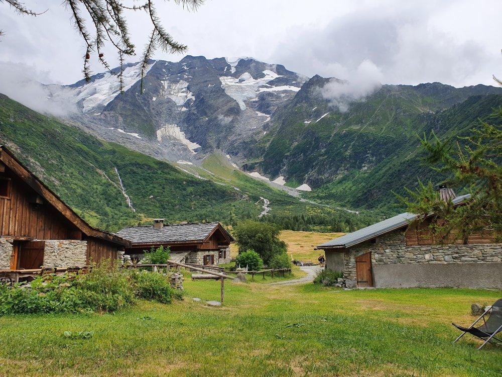 Berghütten Tour du Mont Blanc
