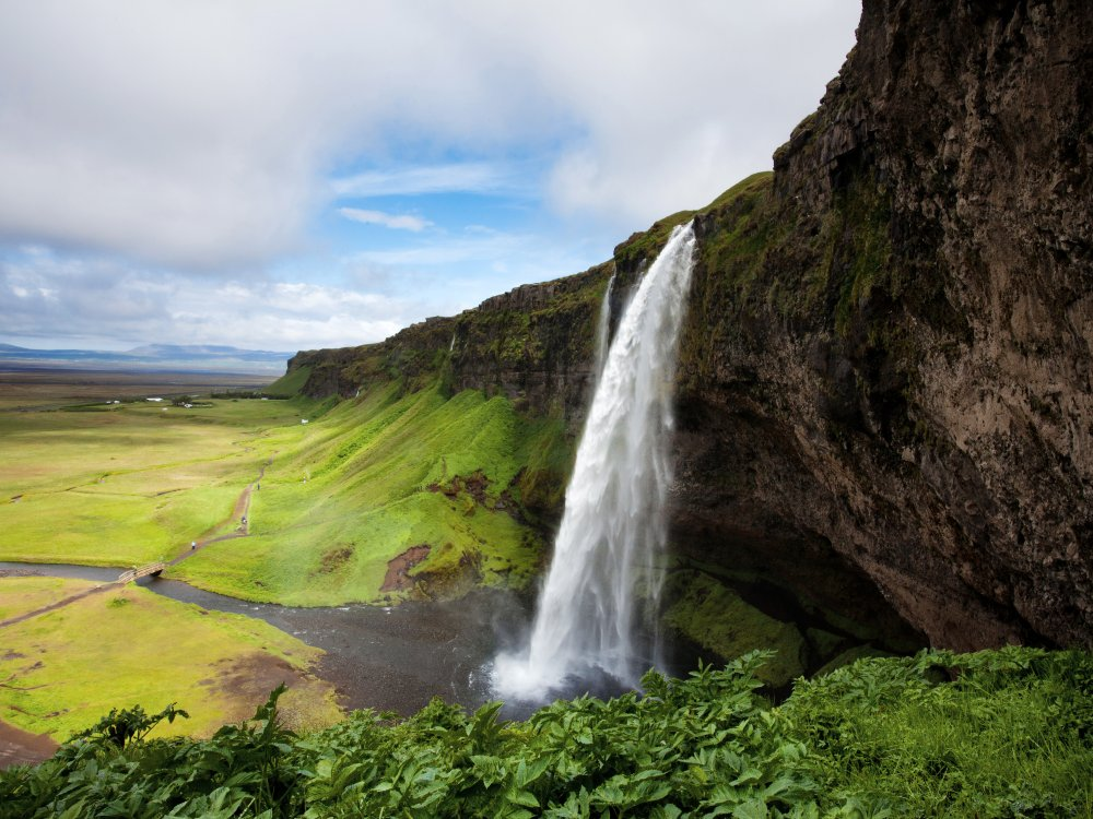 Seljalandsfoss Wasserfall Island