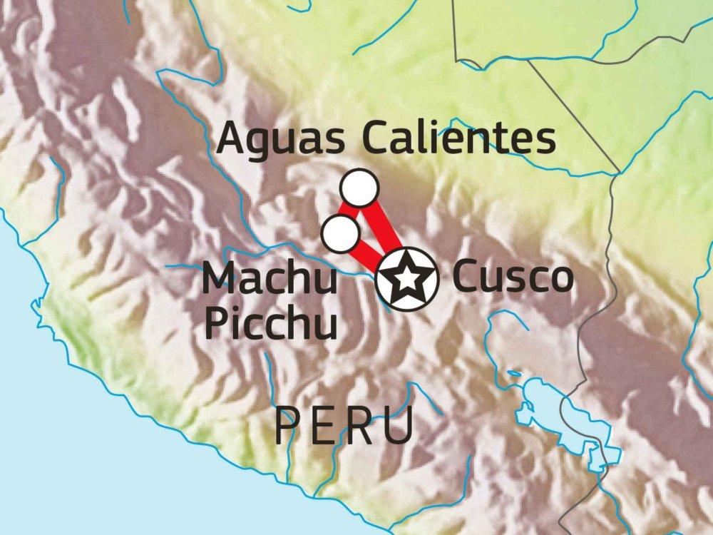 188P00029 Cusco & Machu Picchu Karte