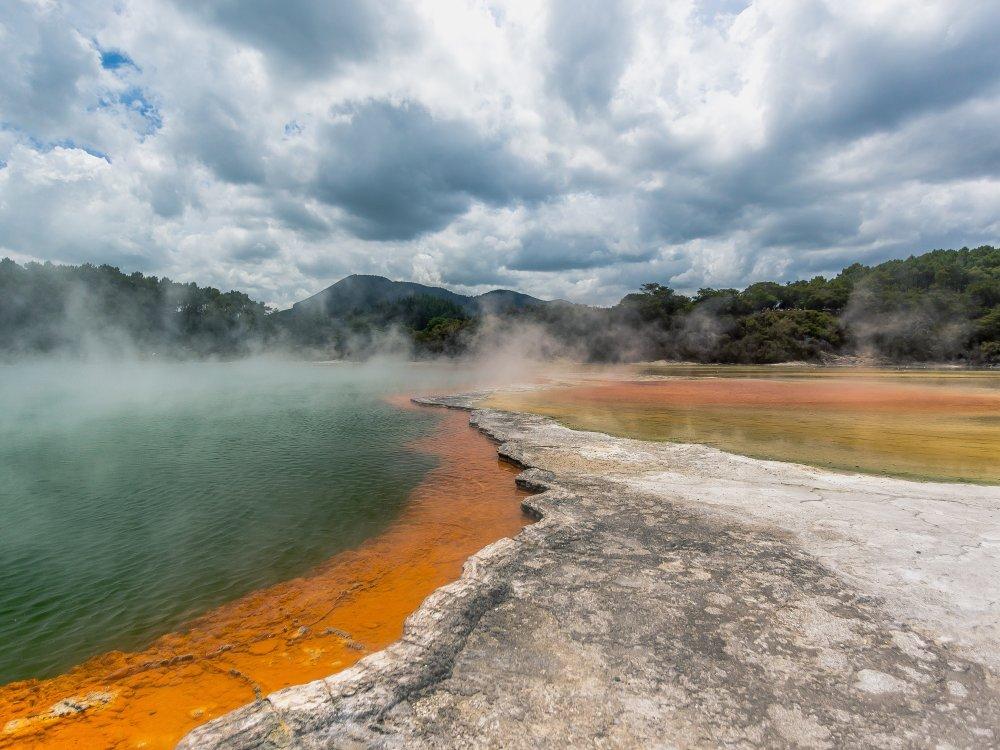 Rotorua Geothermie
