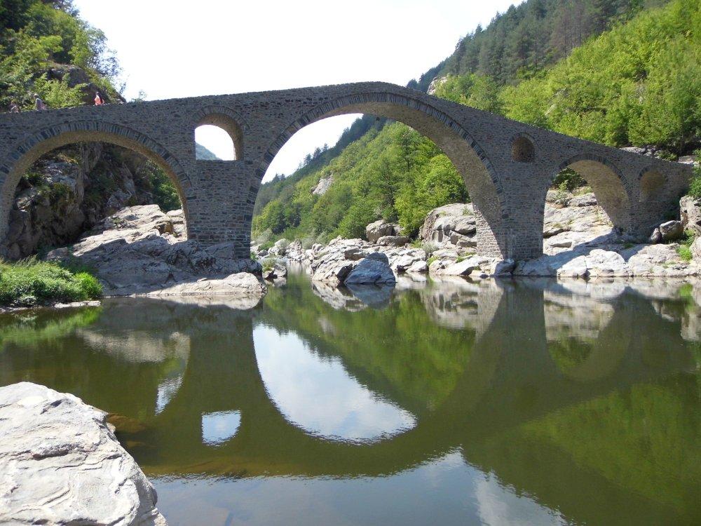 Teufelsbrücke in den Rhodopen