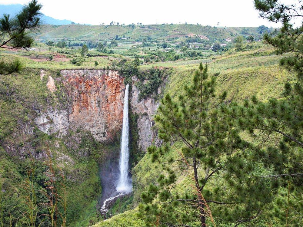 Sipiso-piso Wasserfall