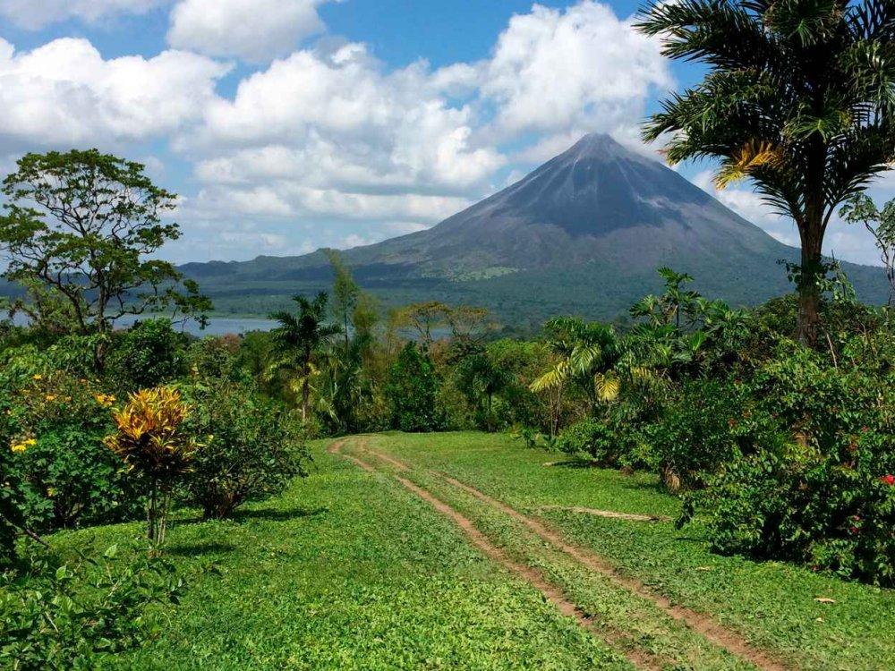 Costa Rica Vulkan