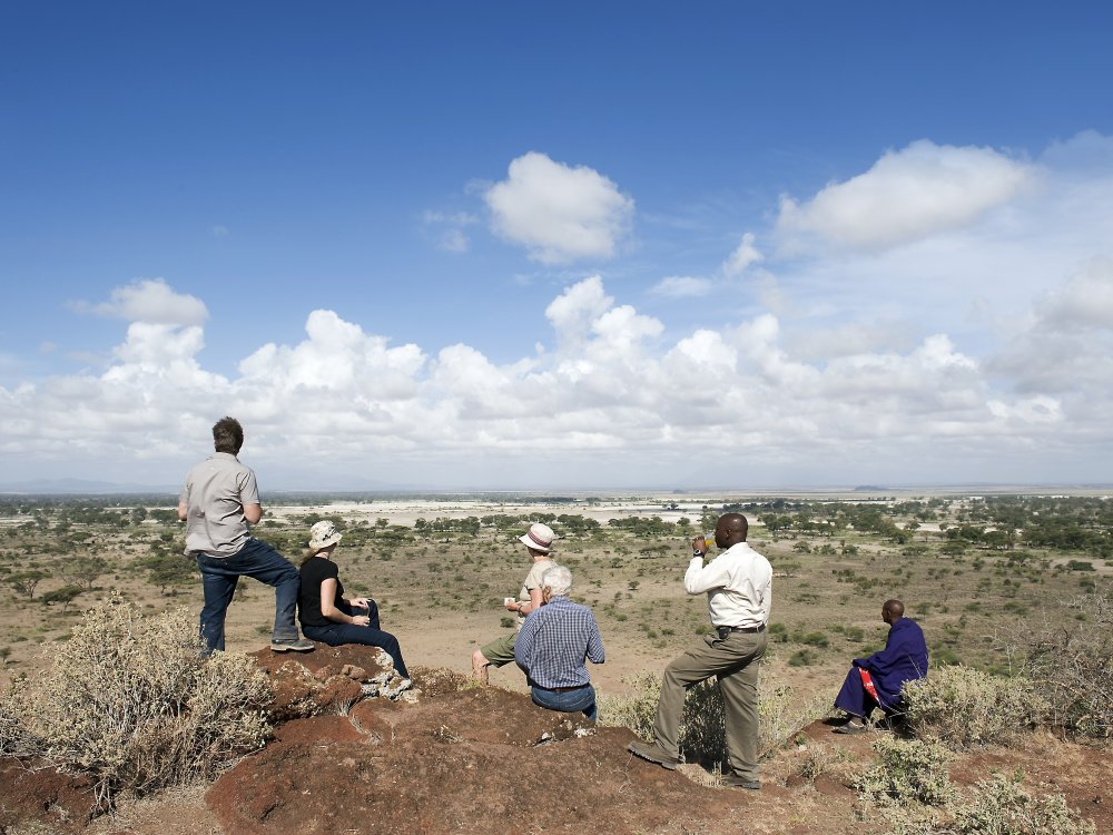Wanderung in der Region West-Kilimanjaro