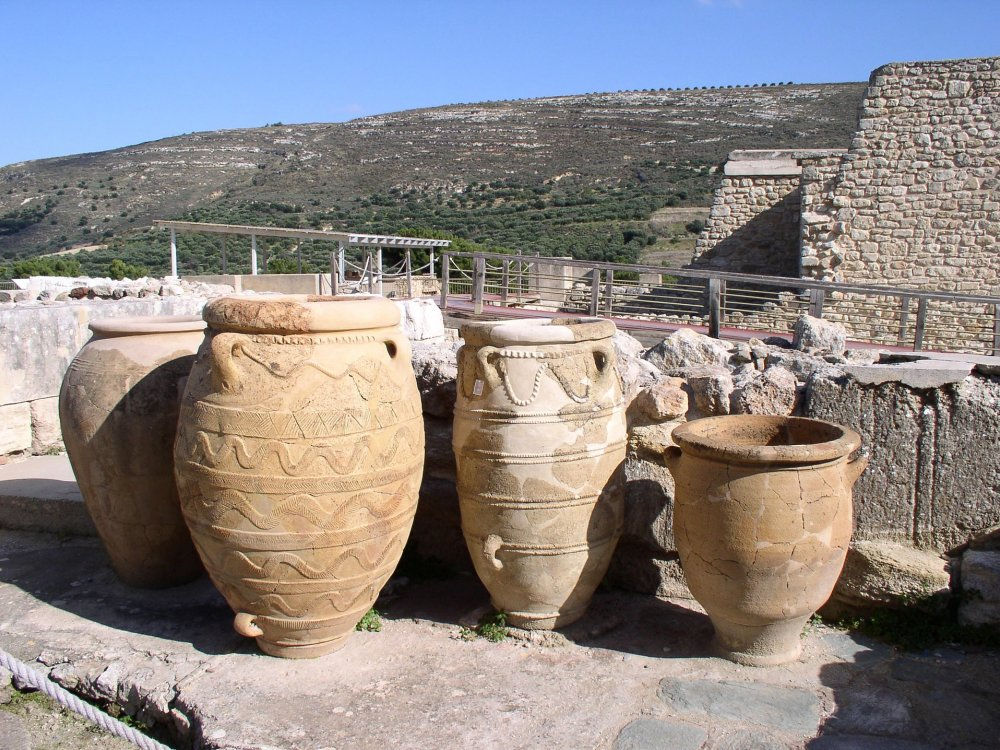 Knossos Amphoren