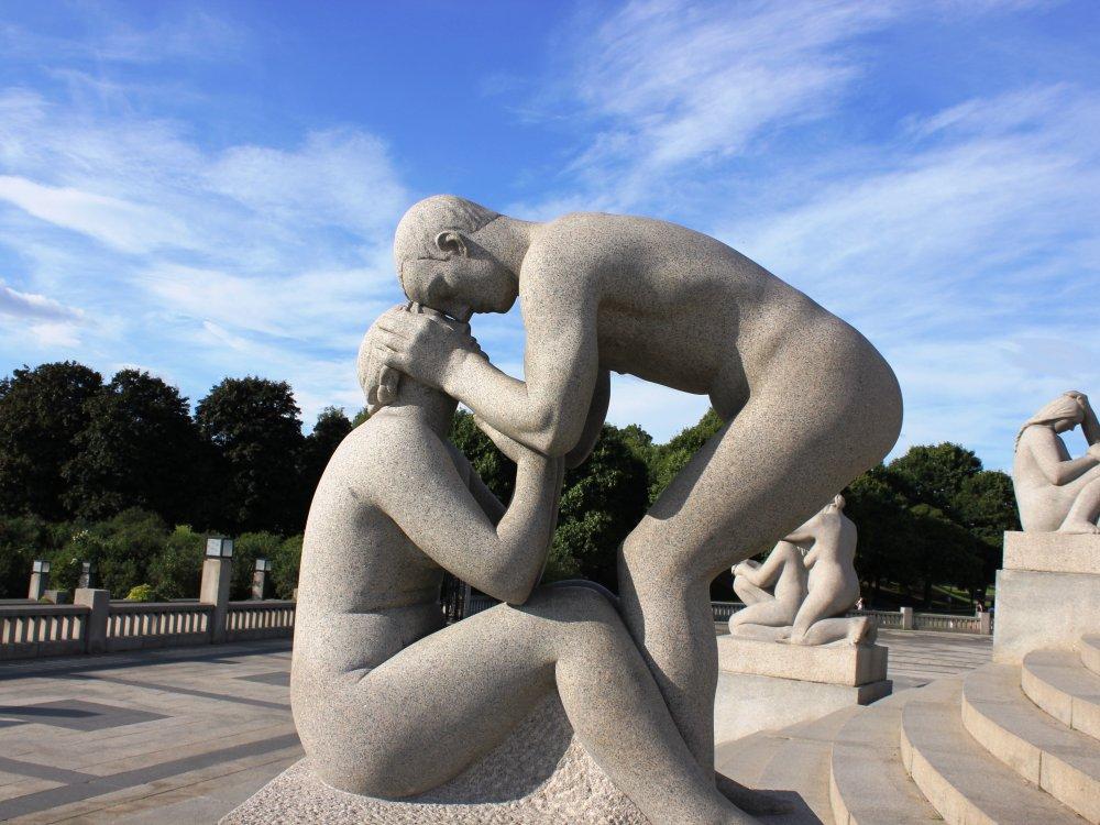Oslo Statuen