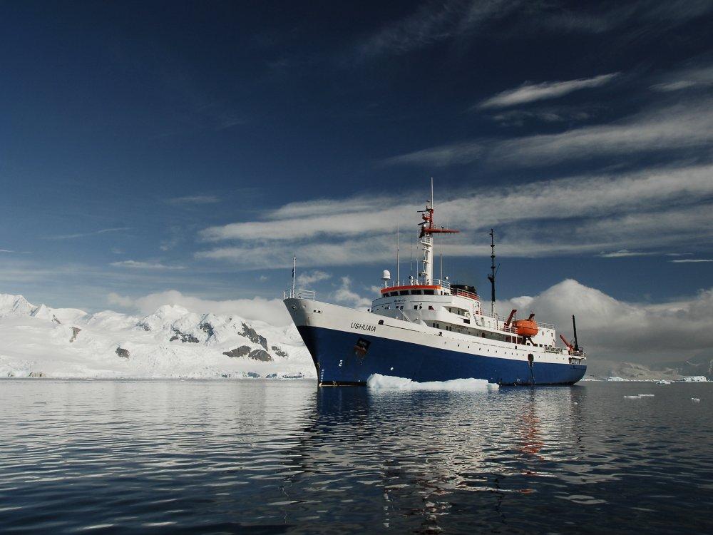 Antarktis Schiff Ushuaia