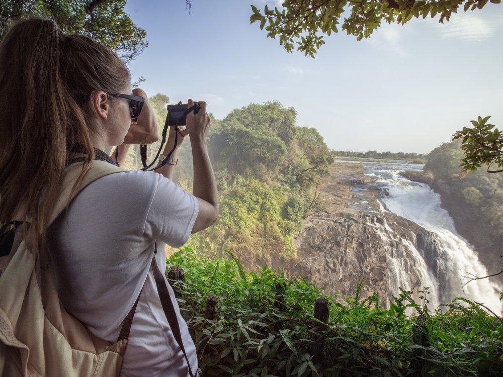 Victoria Falls Aussichtspunkt