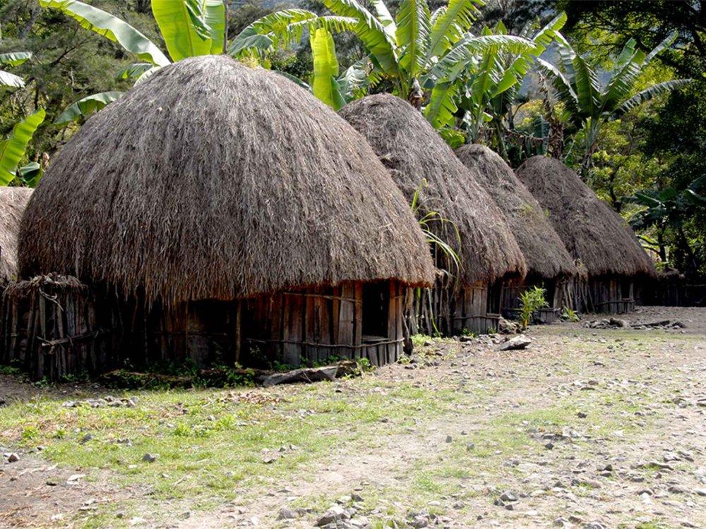 Trekking zu den Dani im Baliem-Valley