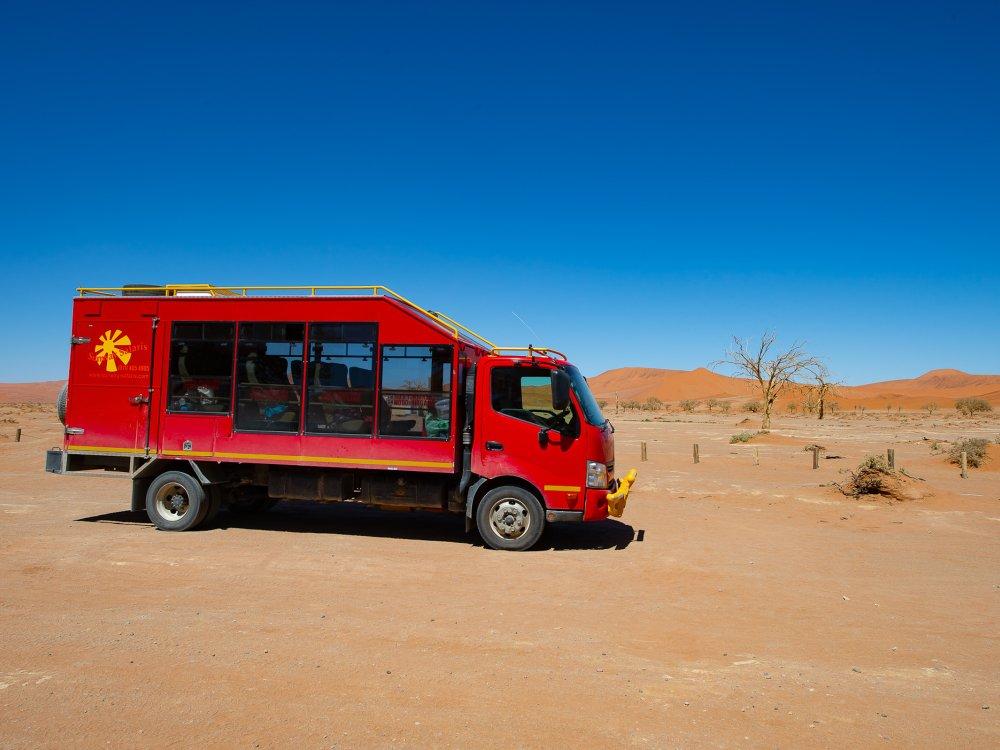 Sunway Truck in Namibia