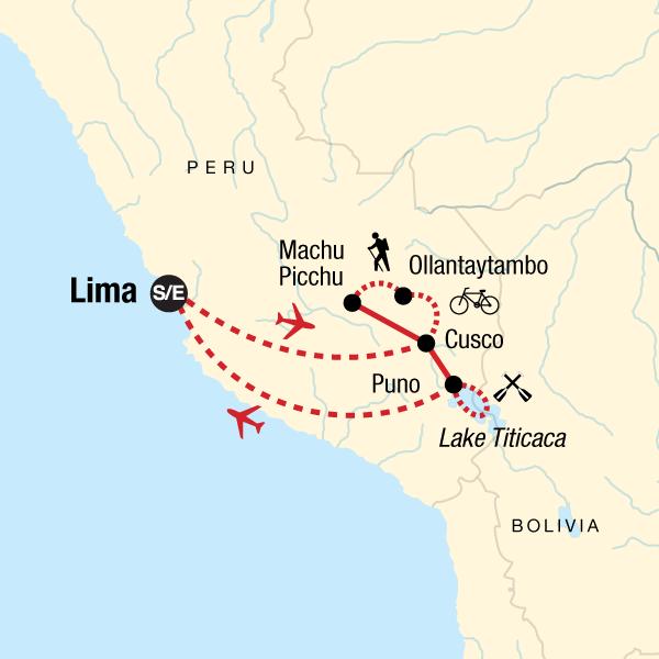 Peru Multisport Karte