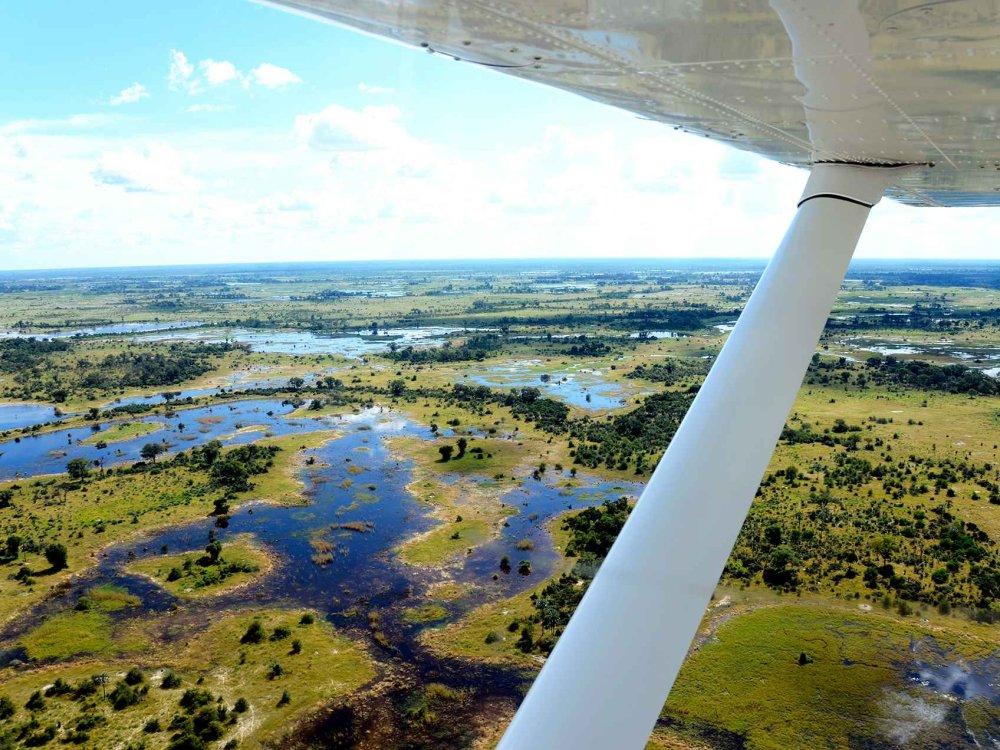 141W10001 Okavango Wildlife Safari & Hausboot Karte