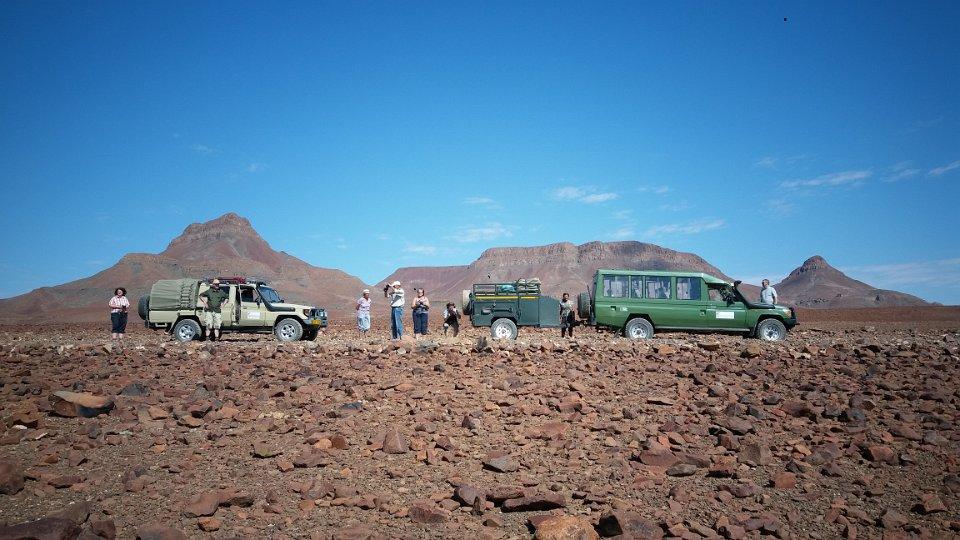 Unterwegs im Damaraland