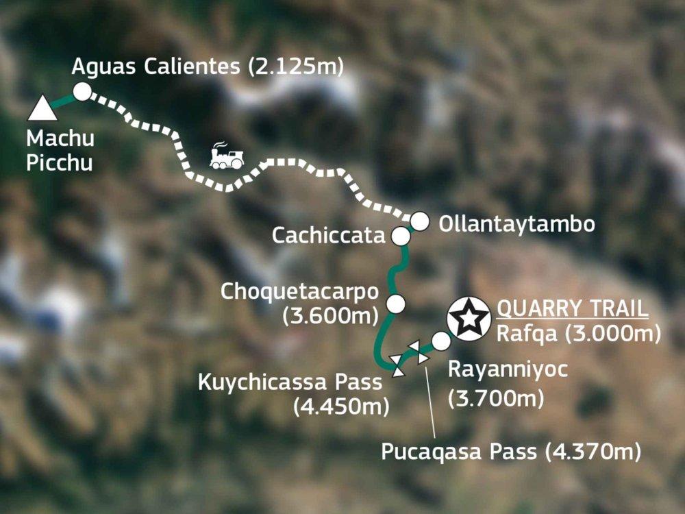 Quarry Trail Karte