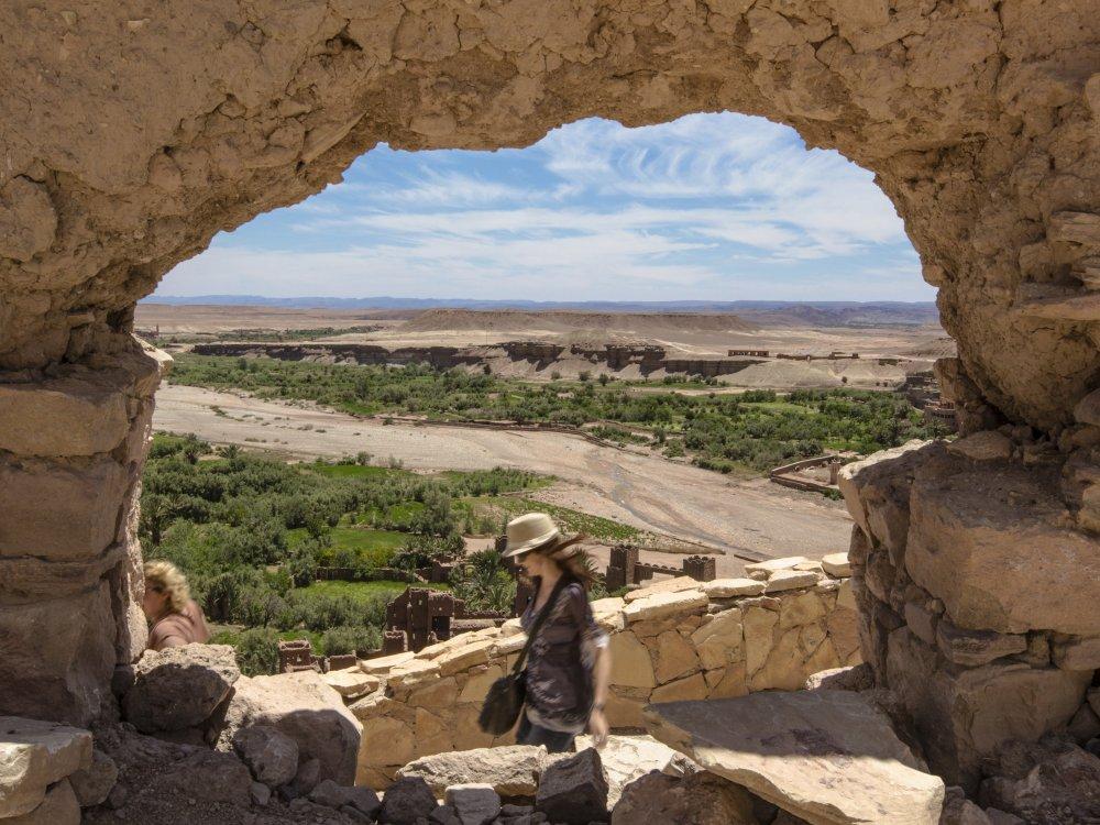 Ait Ben Haddou Stone Arch