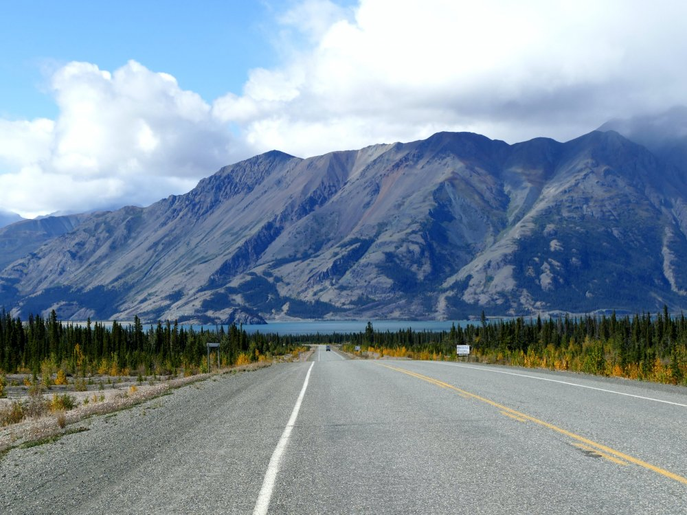 Auf dem Weg in den Kluane Nationalpark im Yukon
