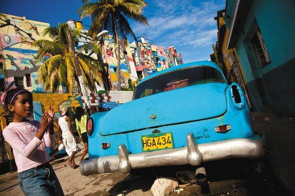 Oldtimer Auto in Havanna