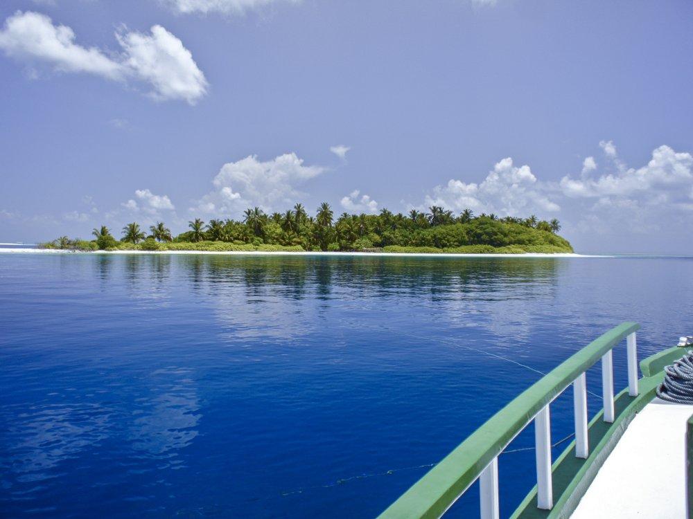 Maldiven Insel Segeltour