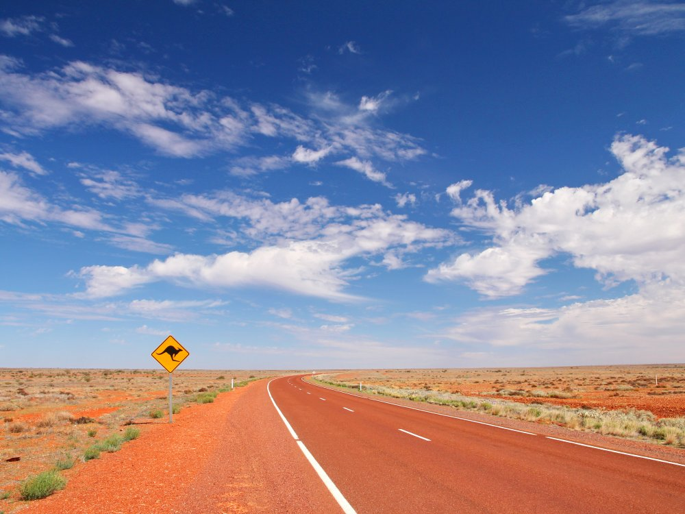 Australien Straße
