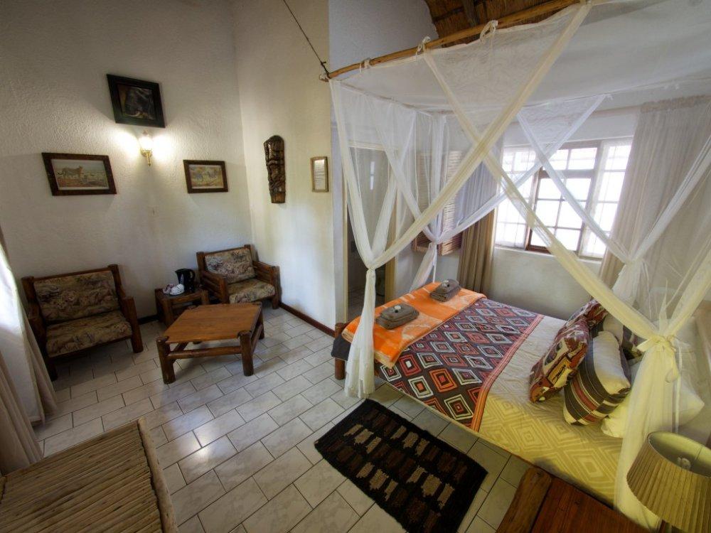 Zimmer in der Tremisana Lodge