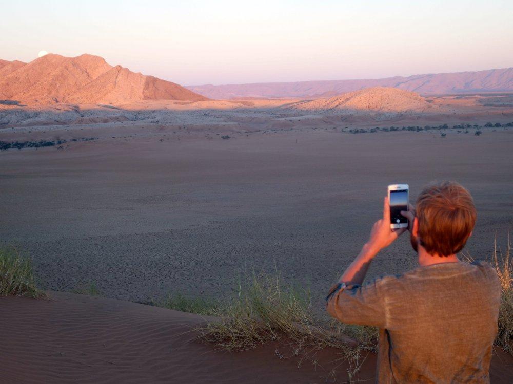 Namibia-sunset-photograph