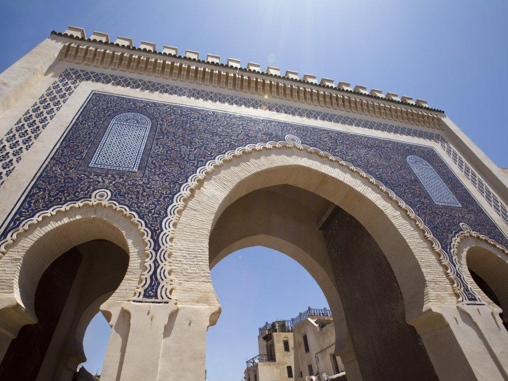 Fes Blaues Tor Bab Bou Jeloud