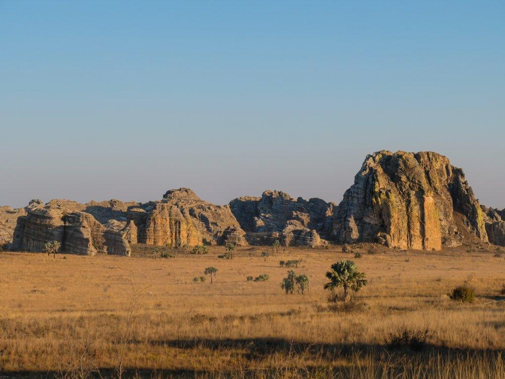 Isalo Nationalpark Landschaft