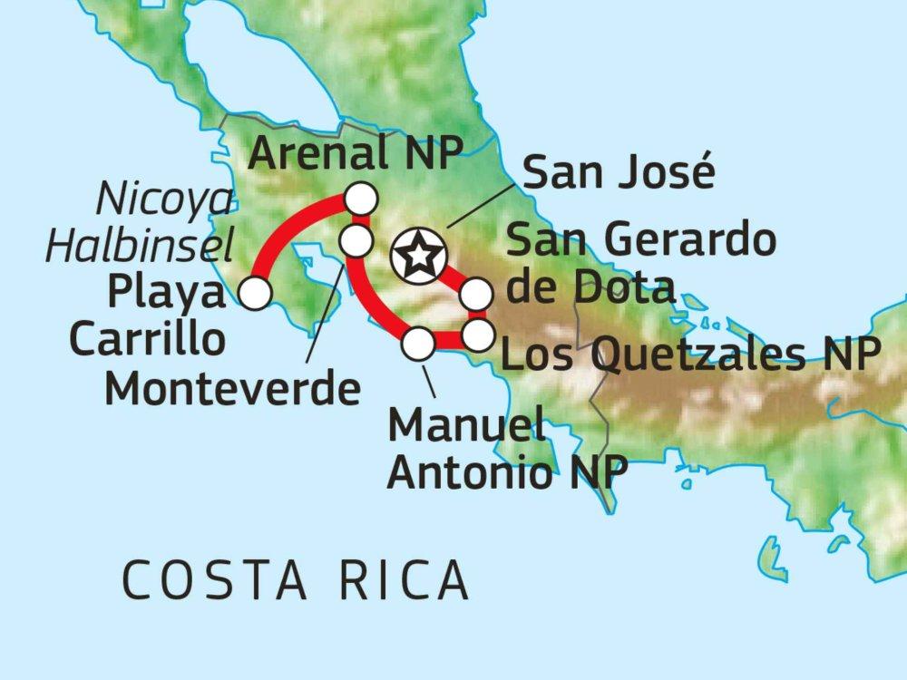 198Y21006 Natur & Pazifikstrände Karte