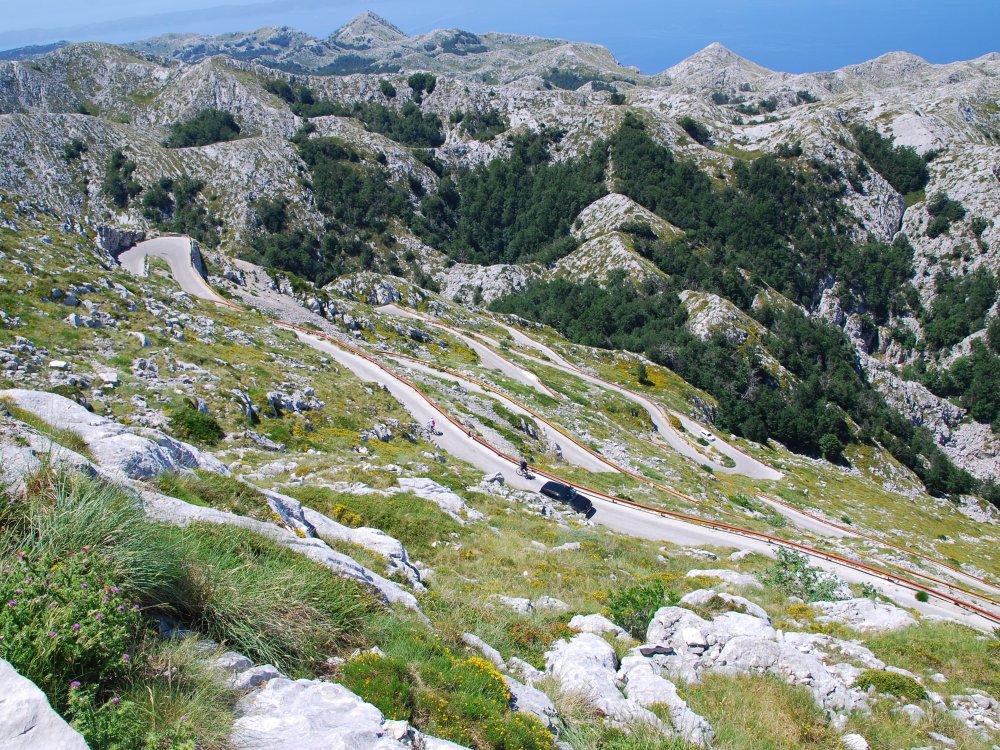 Biokovo Massiv bei Makarska