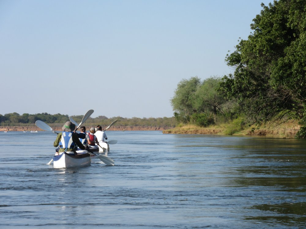 Kanutour auf dem Lower Zambezi