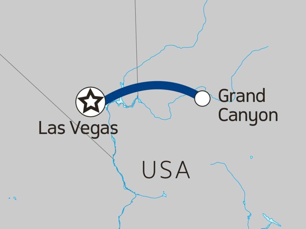 139G10056 Grand Canyon Rafting Karte