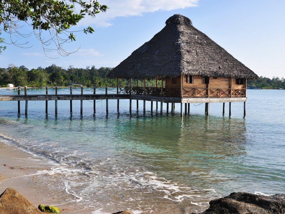 Bocas del Toro Strandhütte