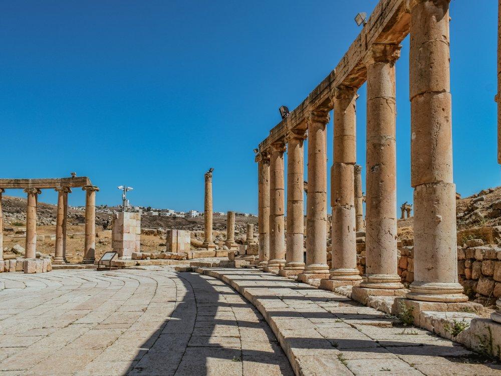 Antikes Jerash